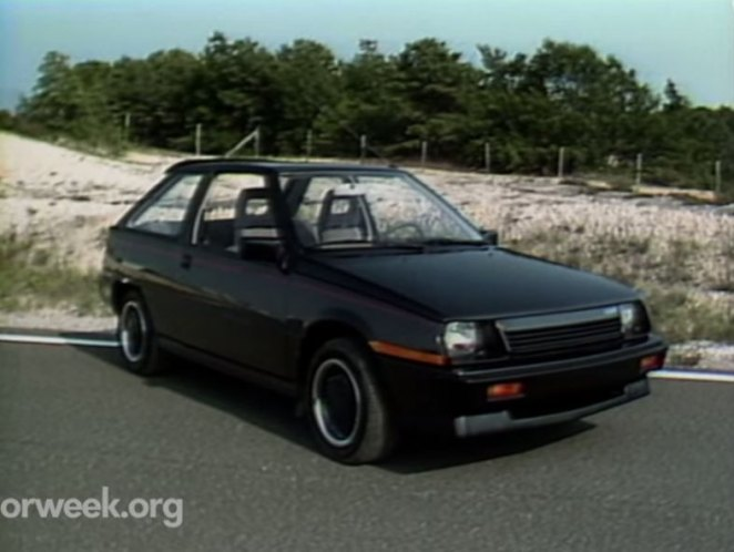 Imcdb Org 1985 Dodge Colt Turbo In Quot Motorweek 1981 2018 Quot