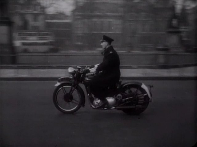 1938 Triumph Speed Twin Police