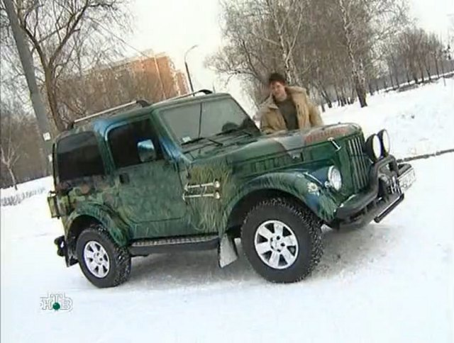 IMCDb.org: Jeep Wrangler With GAZ 69 Front Part In