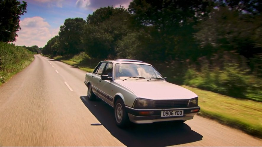 1987 peugeot 505 gti 551a in top gear 2002 2015. Black Bedroom Furniture Sets. Home Design Ideas