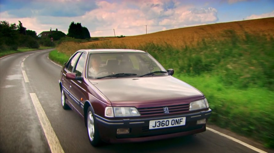 1991 peugeot 405 mi16 in top gear 2002 2015. Black Bedroom Furniture Sets. Home Design Ideas