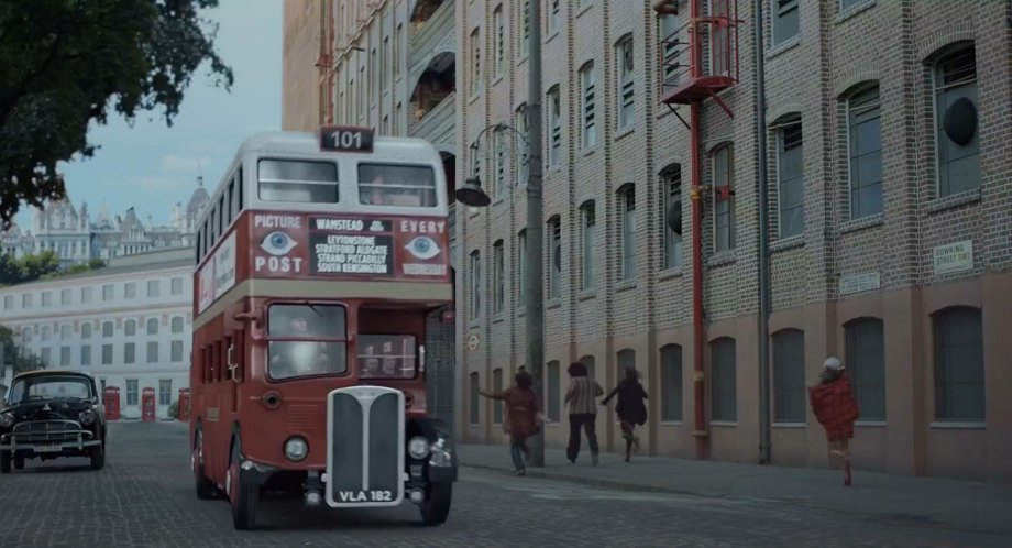 Made for Movie 'London Bus' CGI