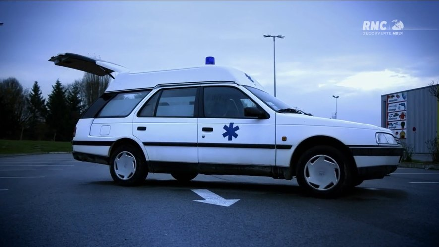 "imcdb: 1988 peugeot 405 ambulance sillage in ""top gear france"