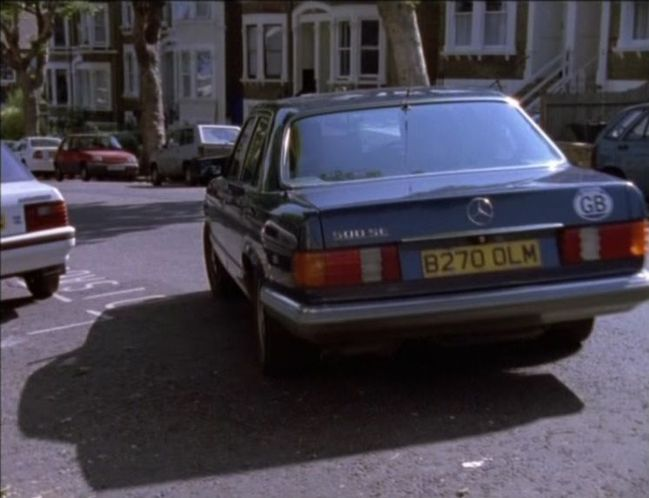 1985 mercedes benz 500 se w126 in london 39 s. Black Bedroom Furniture Sets. Home Design Ideas