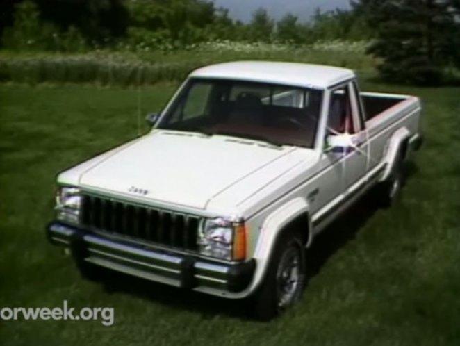 Imcdb 1986 Jeep Comanche 4x4 Mj In Motorweek 1981 2018