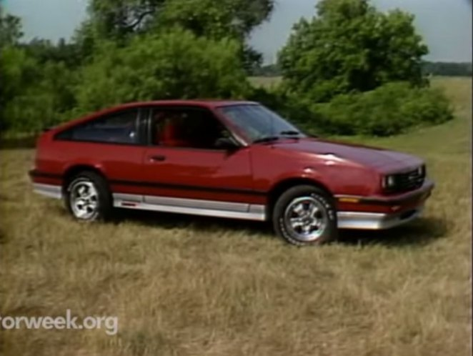 "IMCDb.org: 1986 Chevrolet Cavalier Z24 in ""Motorweek, 1981 ..."