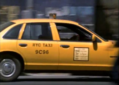 1993 Ford Crown Victoria Commercial Taxi Package [P72]
