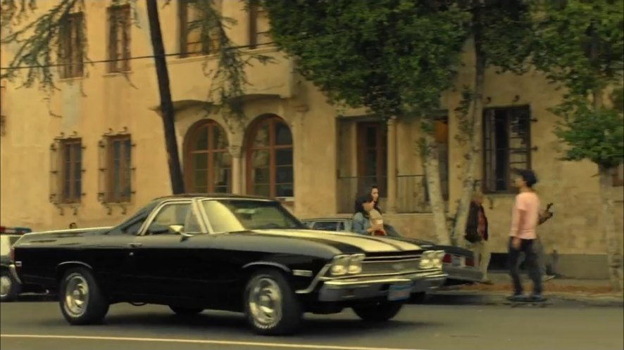 Imcdb Org 1968 Chevrolet El Camino Ss In Wicked City 2015