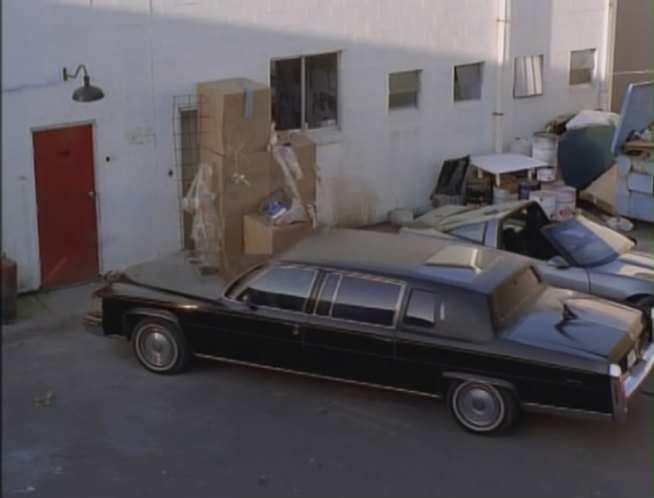 1984 Cadillac Fleetwood Limousine
