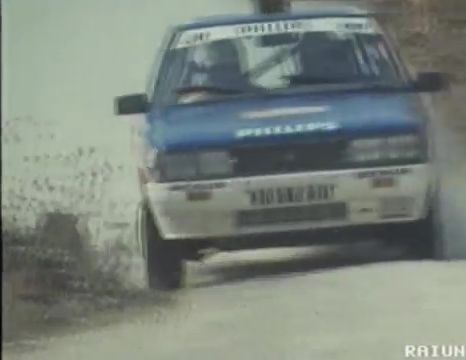Imcdb 1986 Renault 11 Turbo Group A X37 In Rally 1988