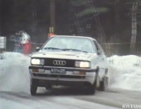 1985 audi coup quattro b2 typ 85 in rally. Black Bedroom Furniture Sets. Home Design Ideas