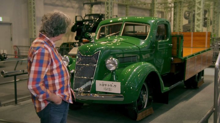 """IMCDb.org: 1935 Toyoda Model G1 Replica in """"James May's Cars of the People, 2014-2016"""""""