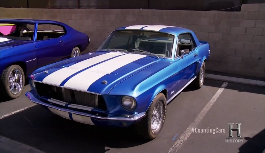 Imcdb Org 1968 Ford Mustang California Special In Counting Cars 2017 2019