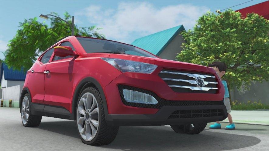 Imcdb Org 2014 Hyundai Santa Fe Dm In Quot Hello Carbot