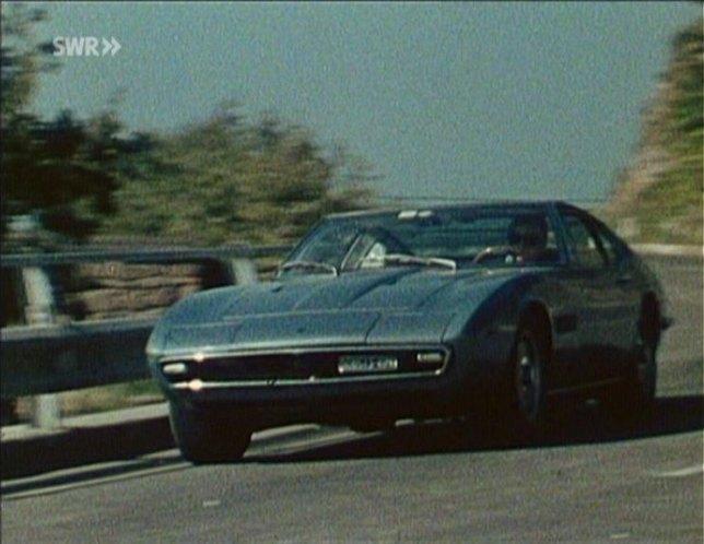 "IMCDb.org: 1968 Maserati Ghibli [Tipo 115] in ""Okay S.I.R"