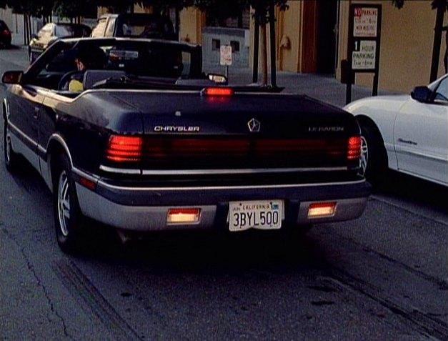 Stubs Auto - Chrysler LeBaron (1976-1994)  |1996 Lebaron Convertible