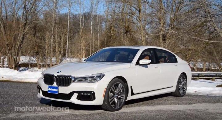2016 BMW 750i XDrive M Sport G11