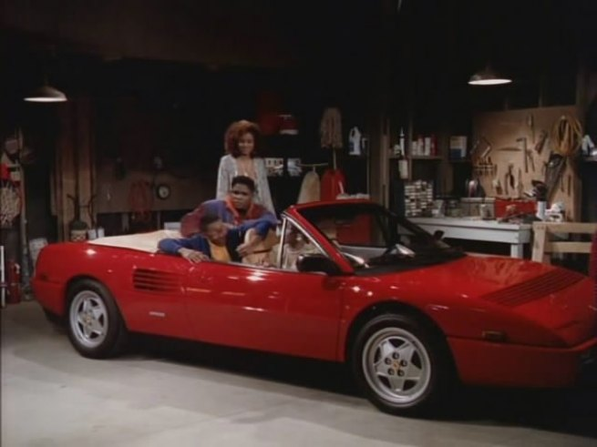 1989 ferrari mondial t cabriolet in family matters 1989 1998. Black Bedroom Furniture Sets. Home Design Ideas