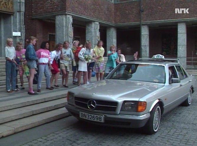 1984 mercedes benz 280 se w126 in borgen. Black Bedroom Furniture Sets. Home Design Ideas