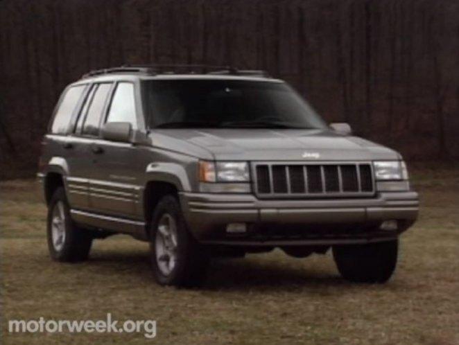 1998 jeep grand cherokee 5 9 limited zj in motorweek 1981 2019. Black Bedroom Furniture Sets. Home Design Ideas