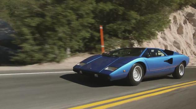 Imcdb Org 1976 Lamborghini Countach Lp 400 Periscopo 1120172 In
