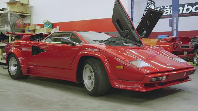 Imcdb Org 1988 Lamborghini Countach Lp 400 S In Jay Leno S Garage