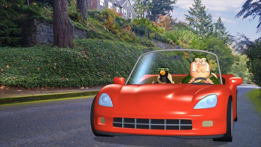 family guy sports car