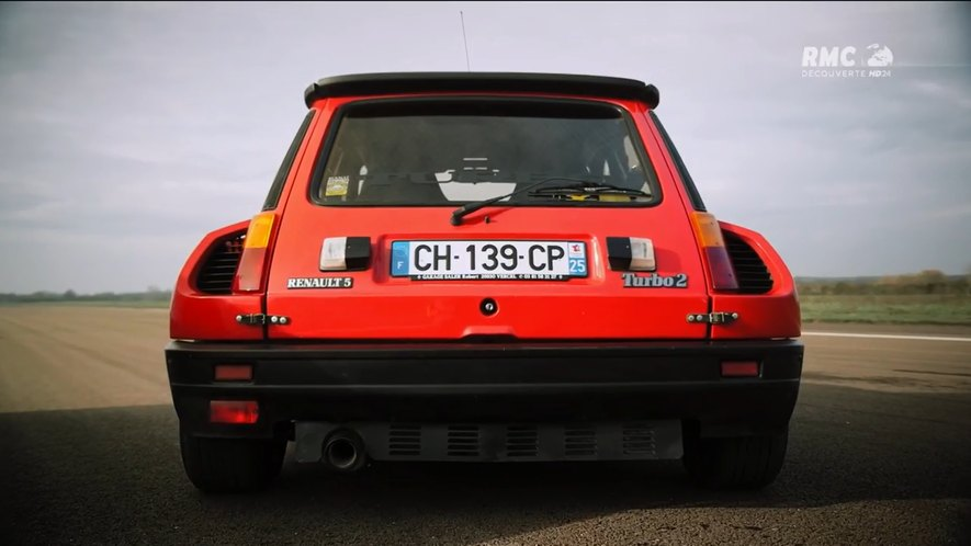 1983 renault 5 turbo 2 in top gear france. Black Bedroom Furniture Sets. Home Design Ideas