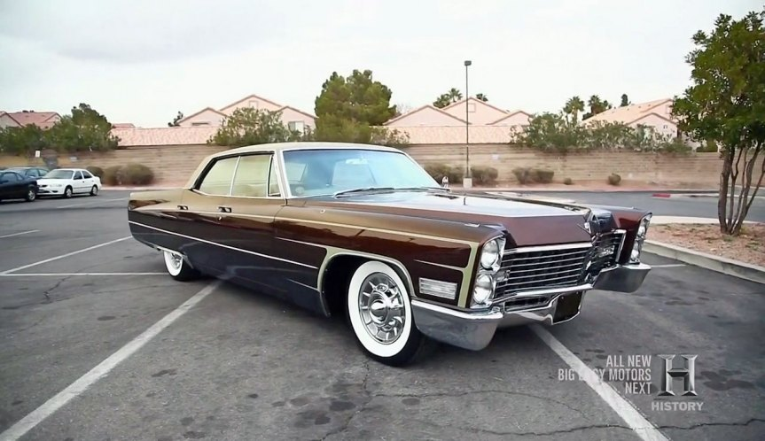 1967 cadillac sedan deville in counting cars. Black Bedroom Furniture Sets. Home Design Ideas