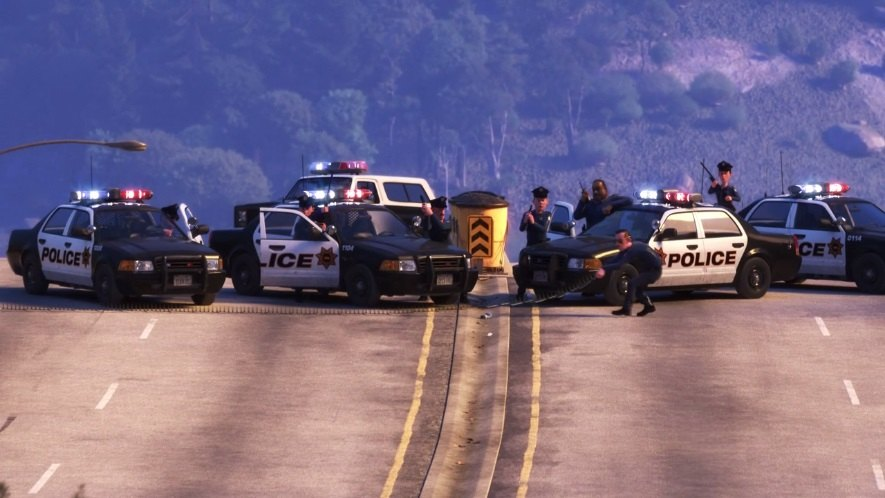 """IMCDb.org: Ford Crown Victoria in """"Finding Dory, 2016"""""""