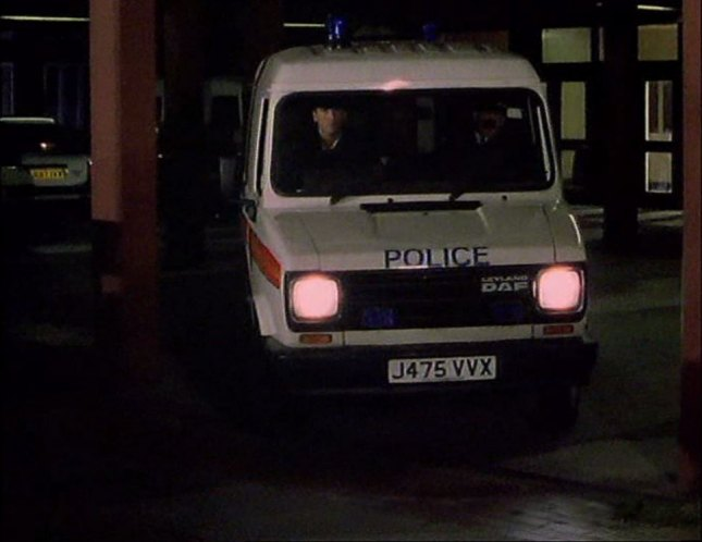 Imcdb Org 1991 Leyland Daf 200 Police In Quot Between The