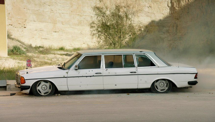 1980 mercedes benz 250 lang w123 in the for Mercedes benz limousine price