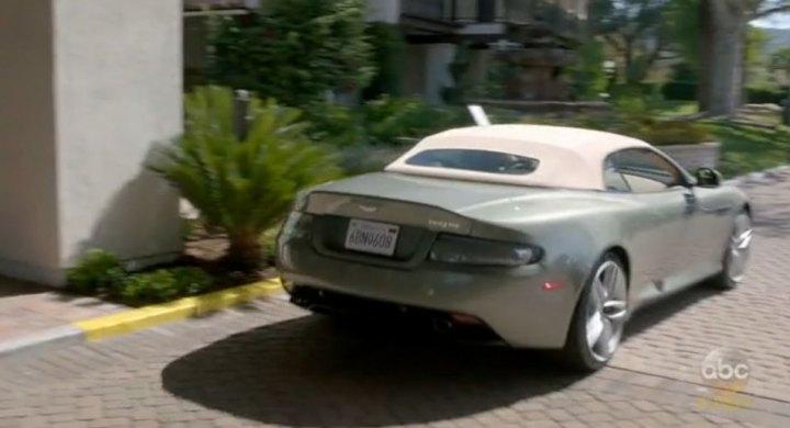IMCDborg Aston Martin DB Volante In Modern Family - Aston martin db9 2018