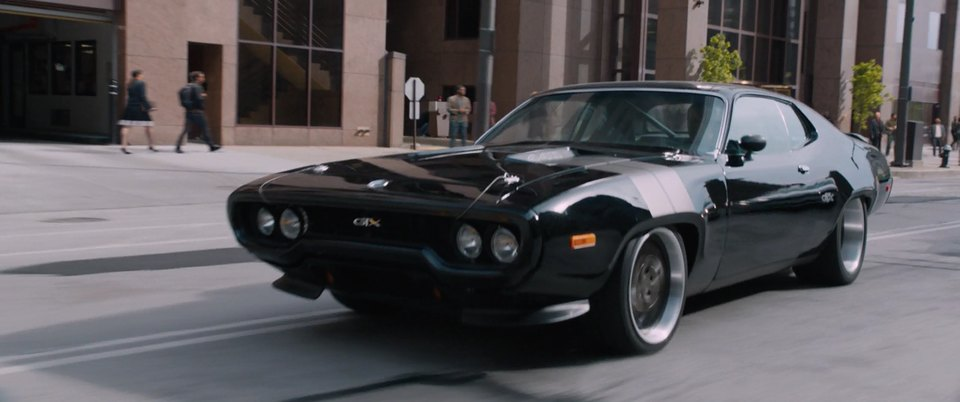 Imcdb Org 1972 Plymouth Road Runner Gtx In The Fate Of Furious 2017