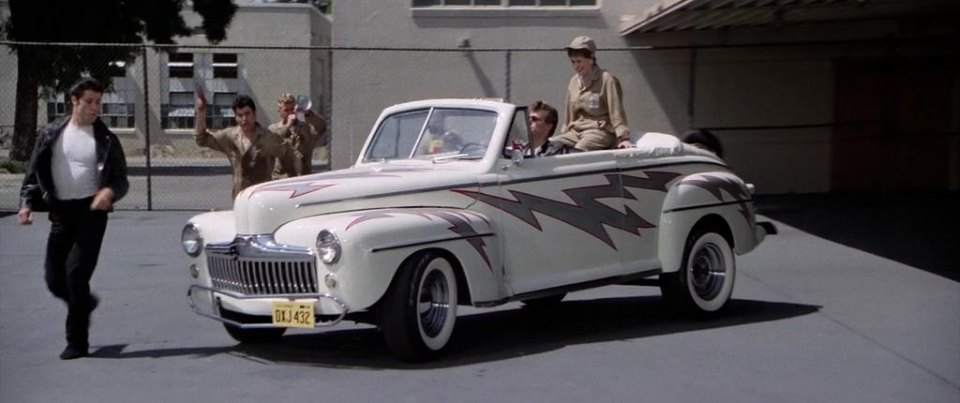 Cars Used In Grease Live