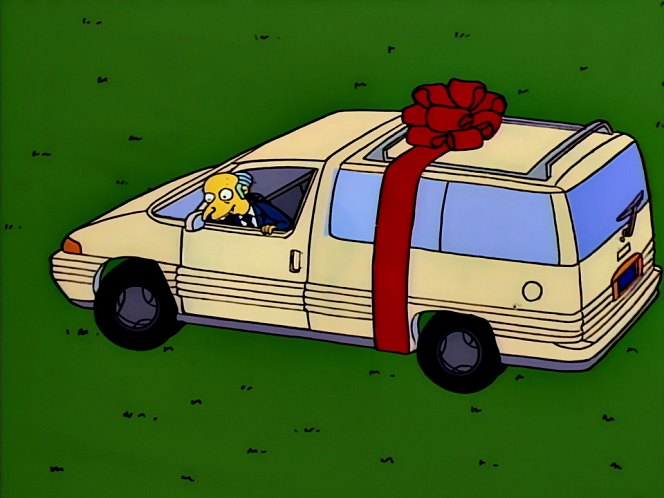 Los Autos De Los Simpsons Aaay P 225 Gina 3
