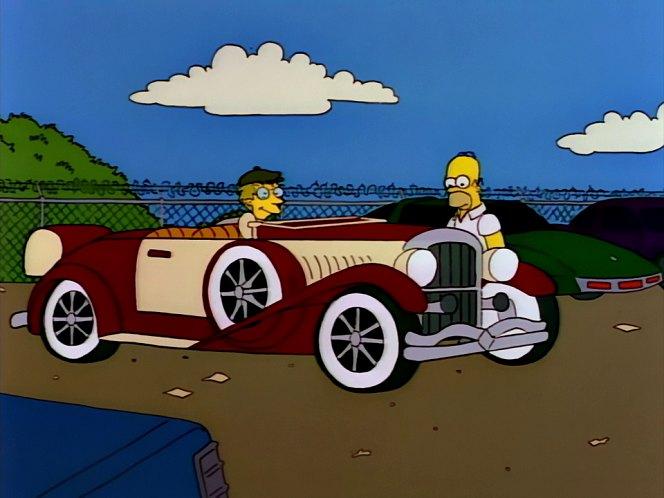 Los Autos  de los Simpsons en la vida real! Excelente!