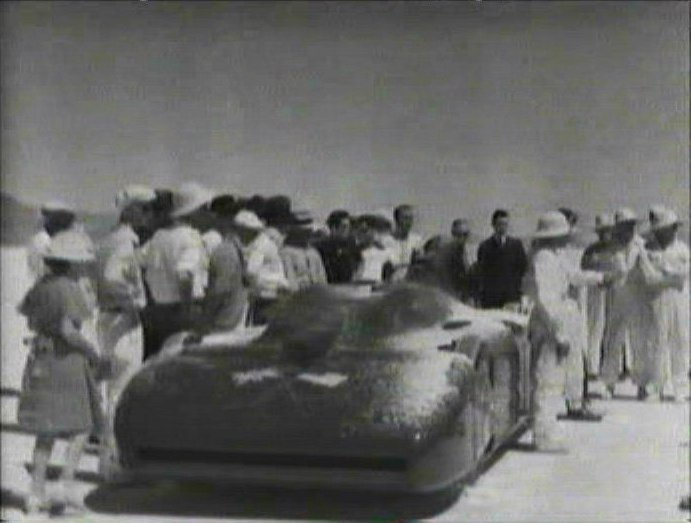 1935 Campbell-Railton Rolls-Royce Bluebird World land speed record car