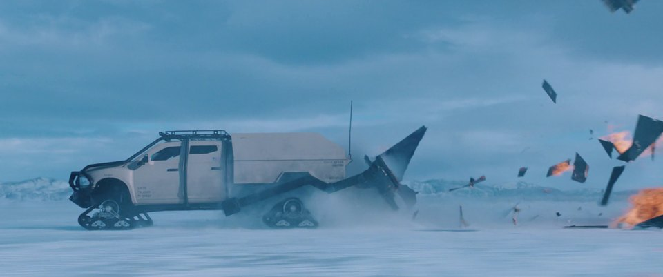 Dodge Ram 'Ice Ram' modified for movie