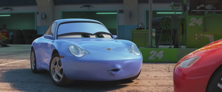 "IMCDb.org: 2002 Porsche 911 Carrera 'Sally' [996] in ""Cars 3, 2017"""