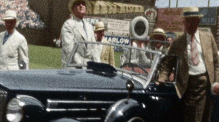 1937 Packard Twelve Convertible Sedan [1508]
