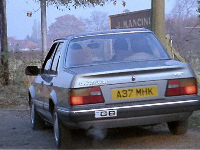 1984 Ford Orion 1.6 GL Automatic MkI