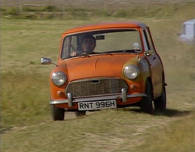 "Mini Cooper Forum >> IMCDb.org: 1969 Morris Mini 1000 MkII [ADO15] in ""Mr. Bean, 1990-1995"""
