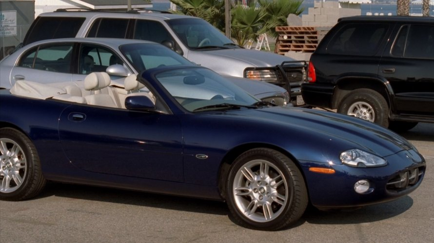 "IMCDb.org: 2001 Jaguar XK8 X100 in ""Bad Santa, 2003"""
