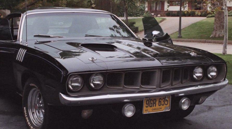 "Dodge Challenger 2007 >> IMCDb.org: 1971 Plymouth 'Cuda 440+6 in ""Phantasm, 1979"""