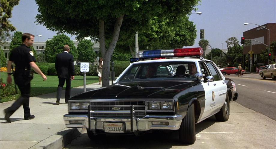 Surprising chevrolet police car photos best image engine e imcdb org 1981 chevrolet impala in beverly hills cop 1984 publicscrutiny Gallery