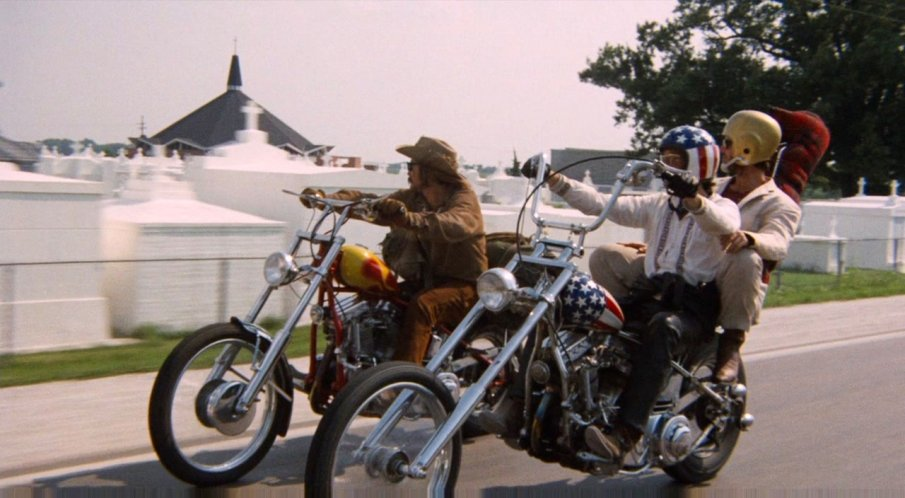 Imcdb Org 1951 Harley Davidson Panhead In Quot Easy Rider 1969 Quot