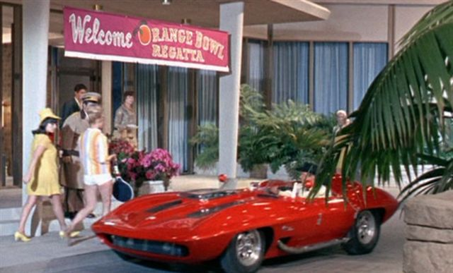 "Used Dudley Cars >> IMCDb.org: 1959 Chevrolet Corvette XP-87 Stingray Racer in ""Clambake, 1967"""