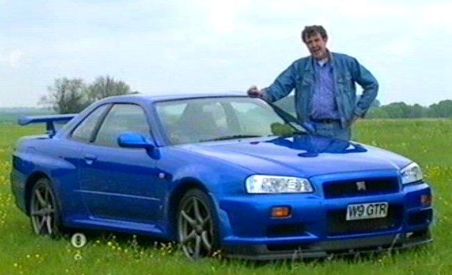 "IMCDb.org: 2000 Nissan Skyline GT-R [R34] in ""Clarkson's ..."