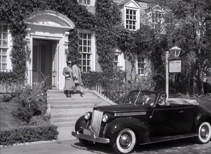 1938 Packard Eight Convertible [1601]